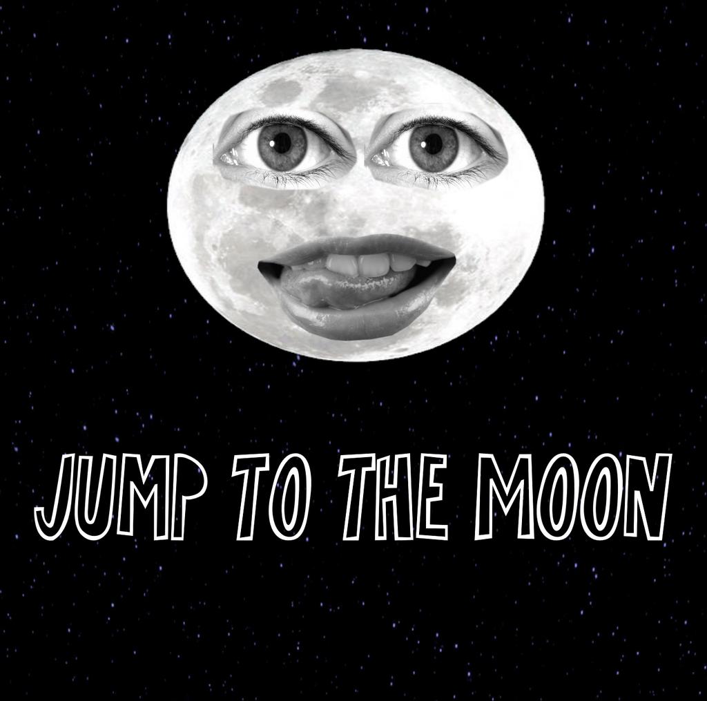 Jump To The Moon (Album Art) by TwistedDarkJustin