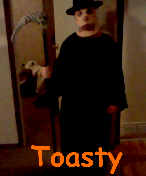 Toasty Costume (2013 Reupload) by TwistedDarkJustin