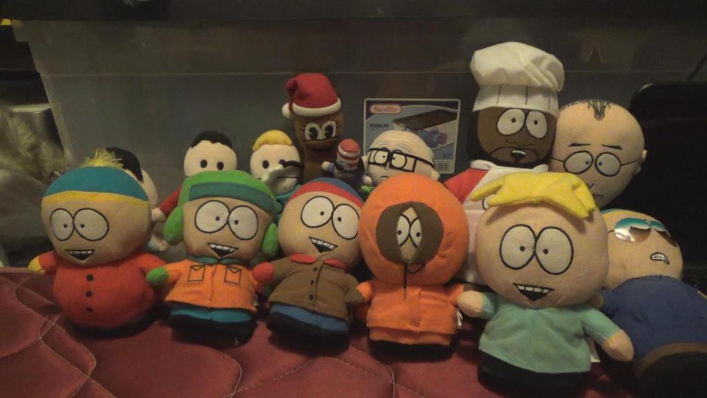 My South Park Plush Collection by TwistedDarkJustin