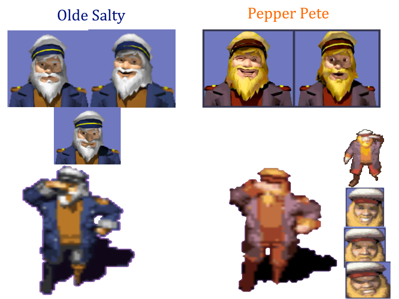 Olde Salty and Pepper Pete Collection by TwistedDarkJustin