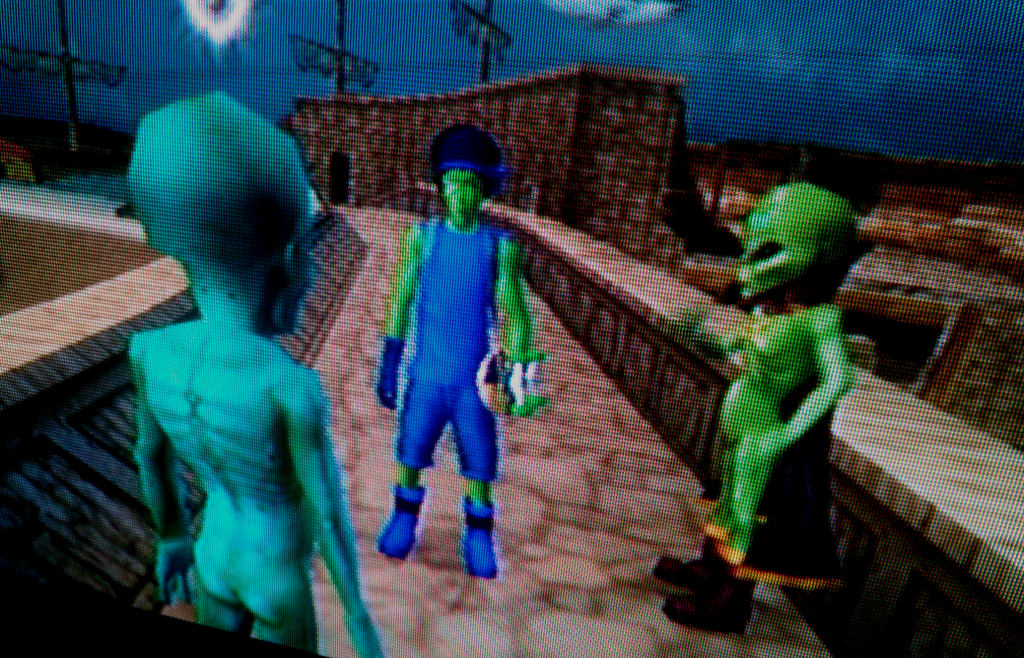 Emperor Xizzle Meets Aliens From THUG2 by TwistedDarkJustin