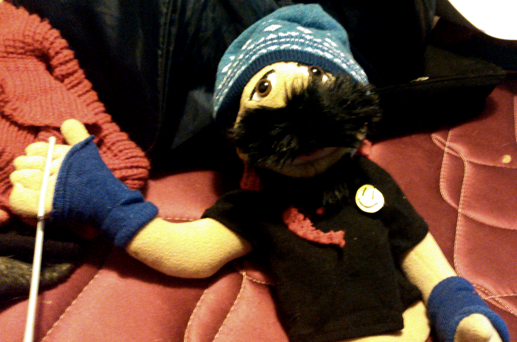 Mokey The Hobo (Modified Puppet) by TwistedDarkJustin