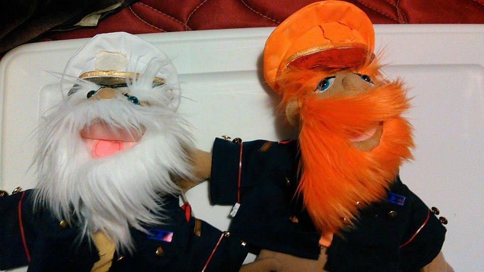 Olde Salty and Pepper Pete (Modified Puppets) by TwistedDarkJustin
