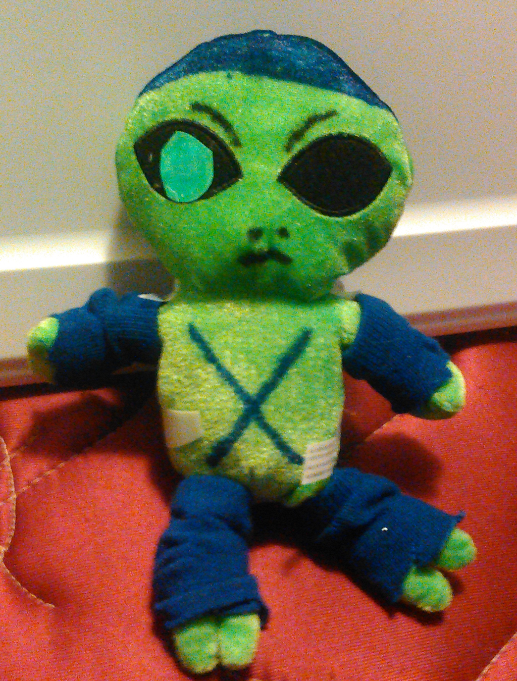 Emperor Xizzle (Modified Plush) by TwistedDarkJustin