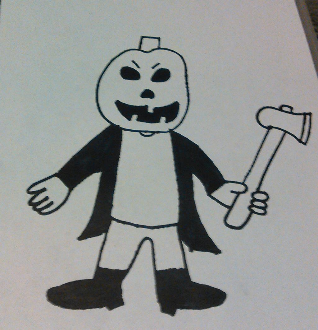 Jack O' Tim (Uncolored Version) by TwistedDarkJustin