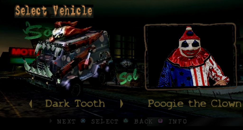 TM Lost/Harbor City - Dark Tooth by TwistedDarkJustin