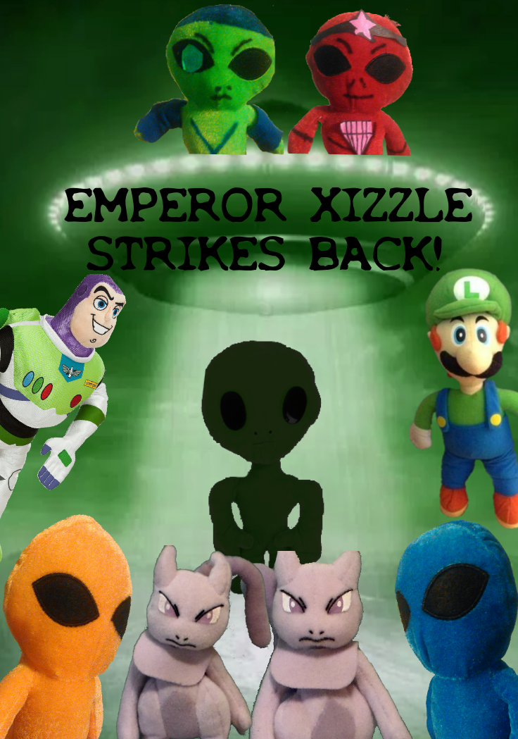 Emperor Xizzle Strikes Back Movie Poster by TwistedDarkJustin