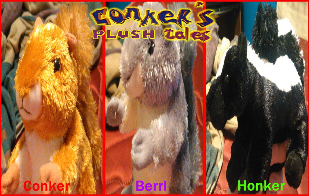 Conker's Plush Tales by TwistedDarkJustin