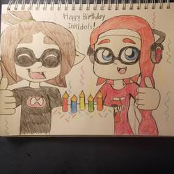 Inkldol's Inkling Birthday Drawing