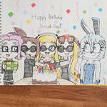Shellsea, Cephanie and Friends B-day Gift Drawing