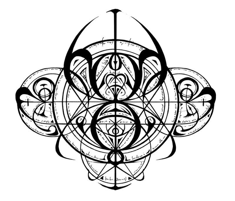 transmutation circle by lokaian on deviantart. Black Bedroom Furniture Sets. Home Design Ideas
