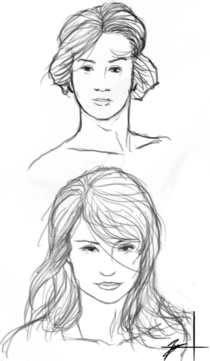 Female Busts1 by Shin-Ty-san