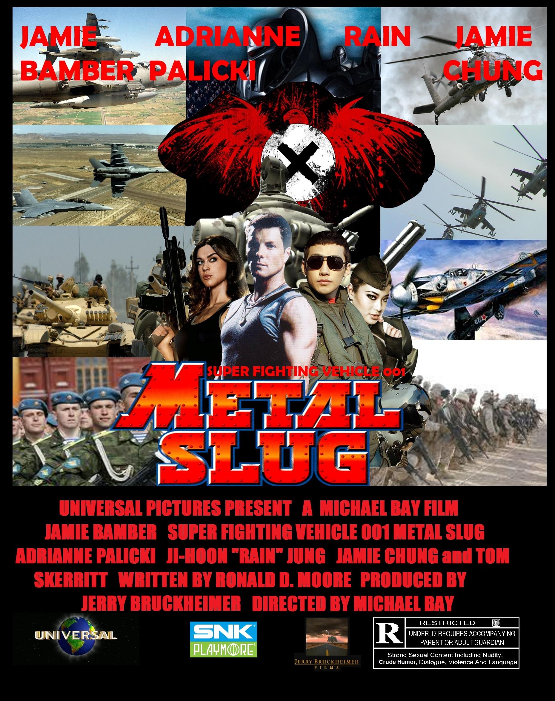 Metal Slug Live Action Movie Poster 1 by BlueWolfRanger95 on