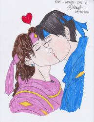 Kyo and Yuri - Ninjetti Love v1 by BlueWolfRanger95