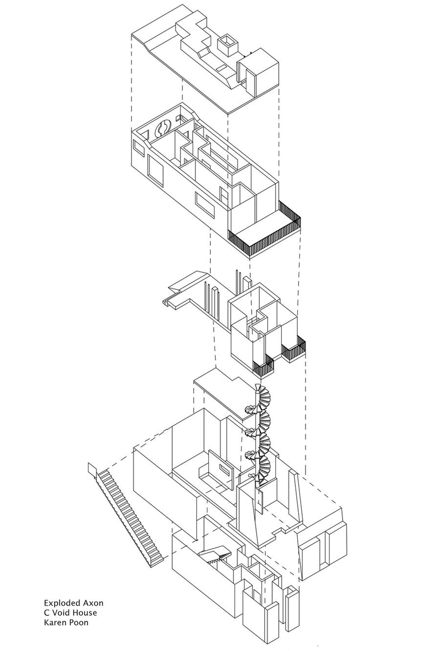 exploded axonometric diagram by whyming on deviantart