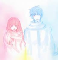KAITO and LUKA by yukipatria