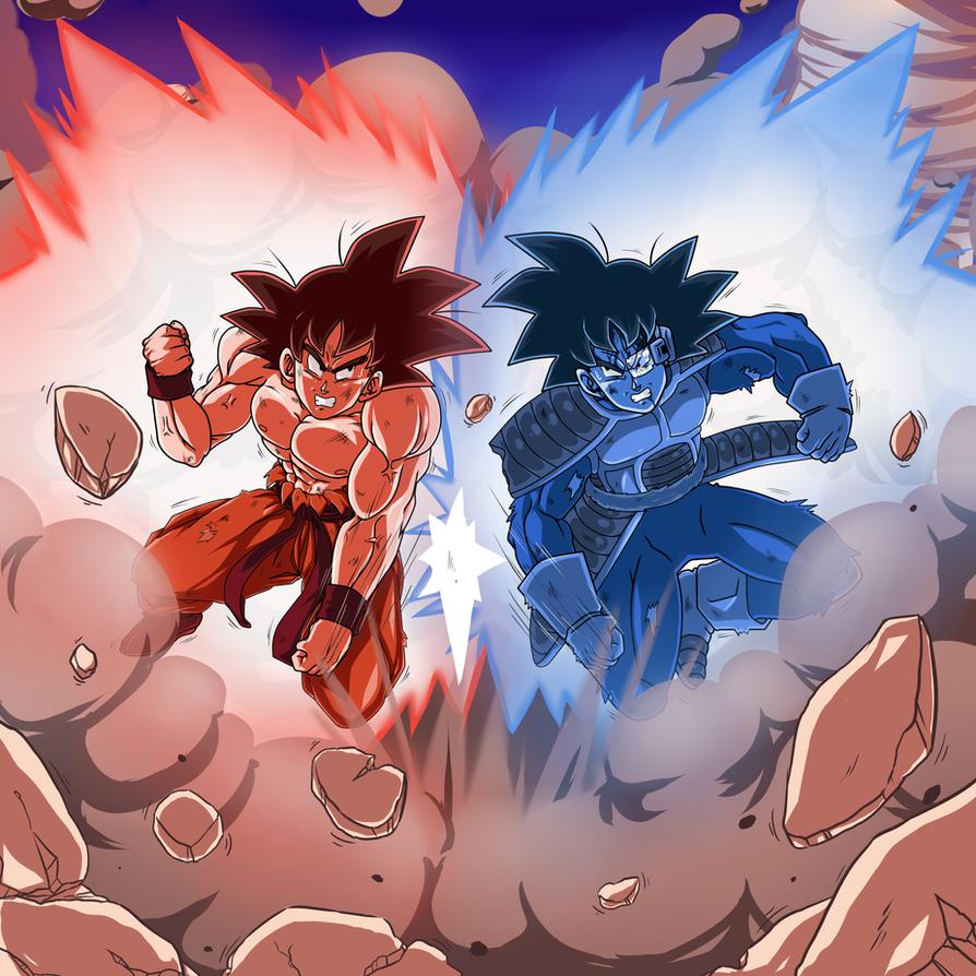 Goku Vs Turles Drawings Idea T Goku Vs Dragon Ball