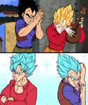 Goku and Vegeta, Vegeta and Goku