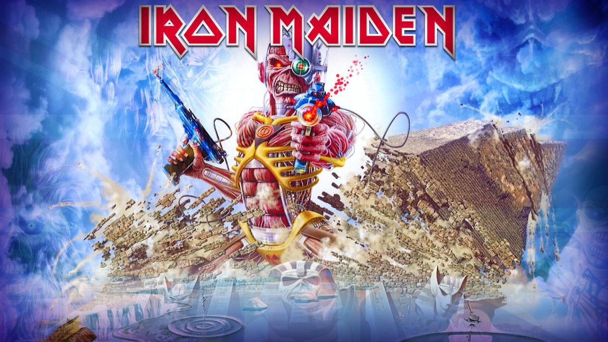 Iron Maiden Wallpaper by DrStuff