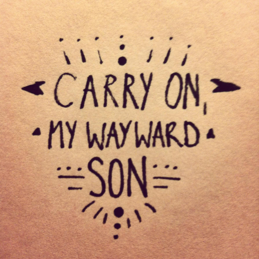 Carryon My Wayward Son Supernatural Musical Version