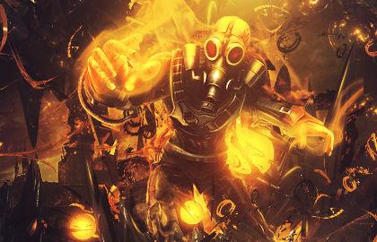 OneCanvas SOTW #20 Fire theme.