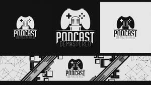 Podcast Demastered Logo and banner Design