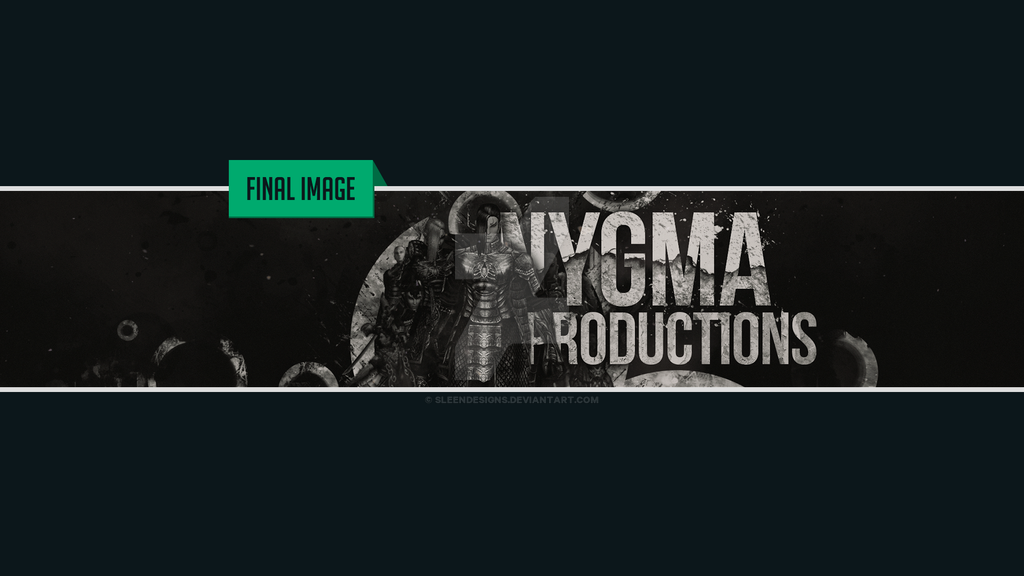 Youtube banner design #3   Nygma Productions by SleeNdesigns on ...