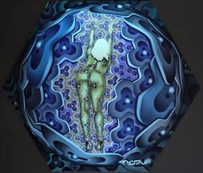 Isaoulala, pin-up by Punkadelik-Art