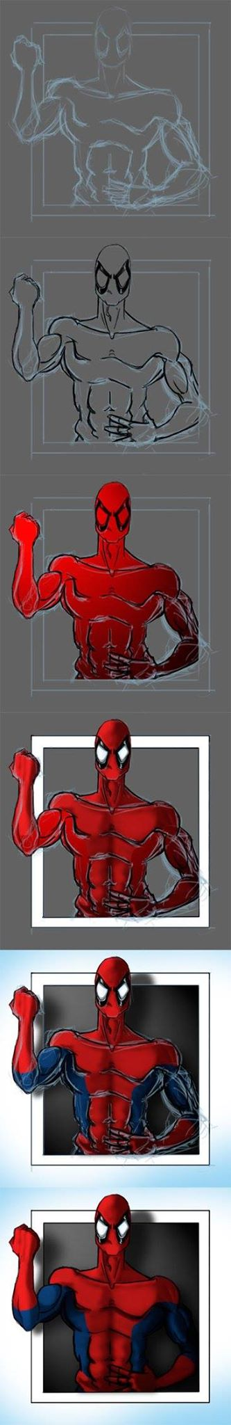 Spidey Deadpool Fusion by peritto
