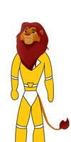 Simba The Yellow Ranger (Unmasked)