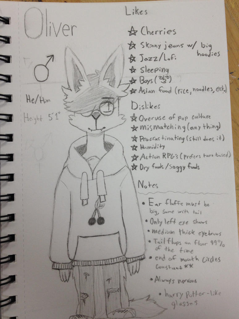 oliver -ref- by pillwprince