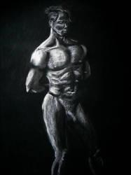 Life Drawing day 6 Charcoal by Littl-Big-Kahuna