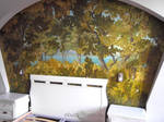 painting wall trees