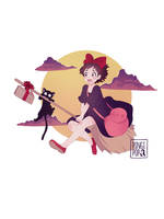 Kiki's Delivery Service by pingipop