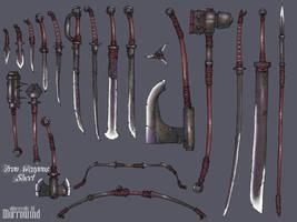Morrowind Iron Weapons
