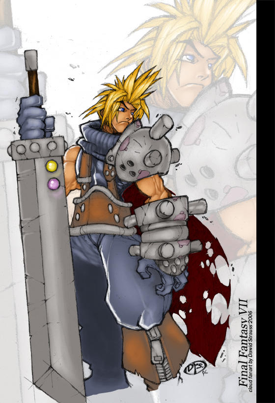 Cloud Strife by DawidFrederik
