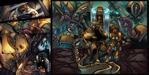 Isis issue 2 p10, 14 and 15 by DawidFrederik