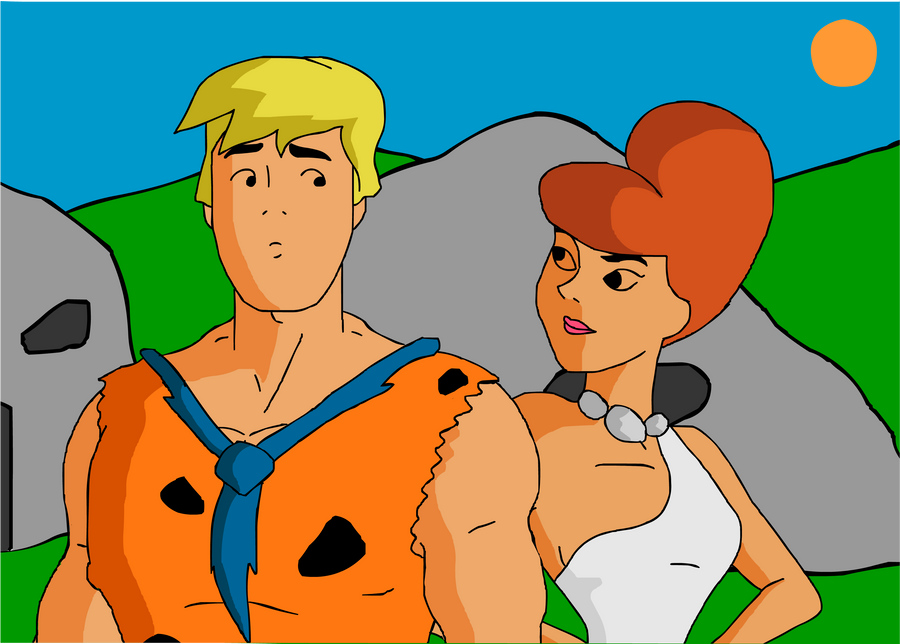 Fred and Daphne - The Jonestones by Kim-Possible333
