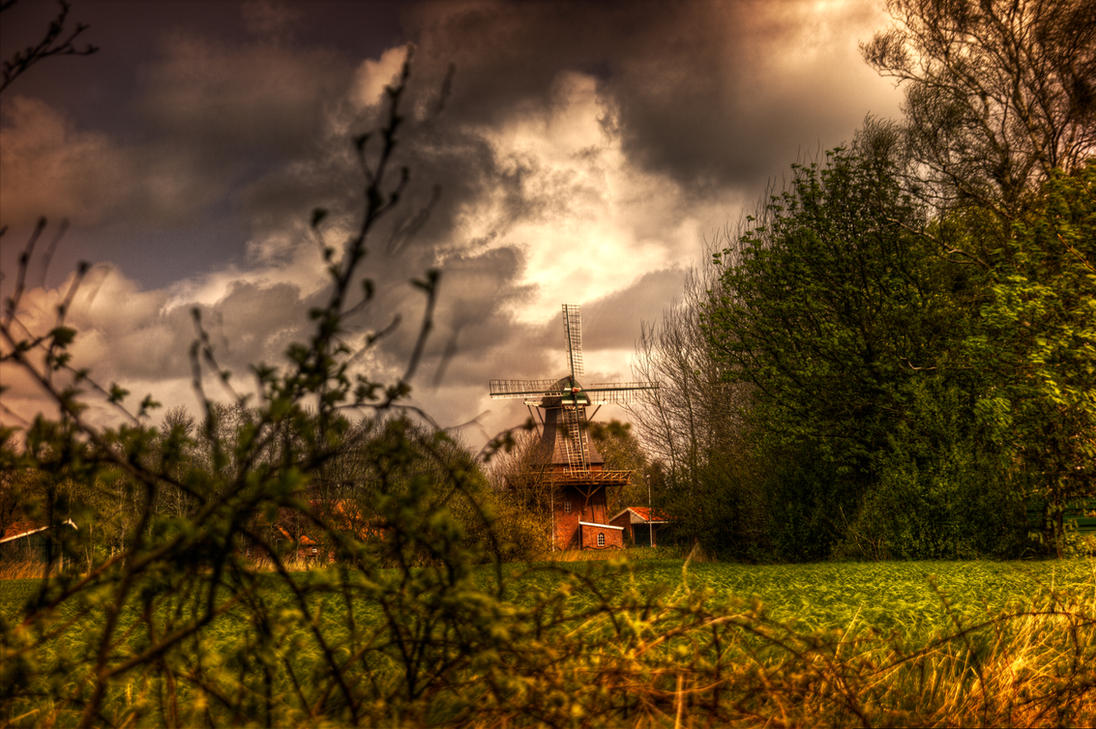 The old Windmill by DisturbedNoise