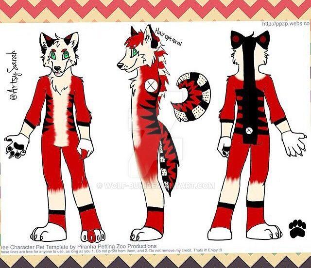 Bismuth Character sheet by Wolf-bun on DeviantArt