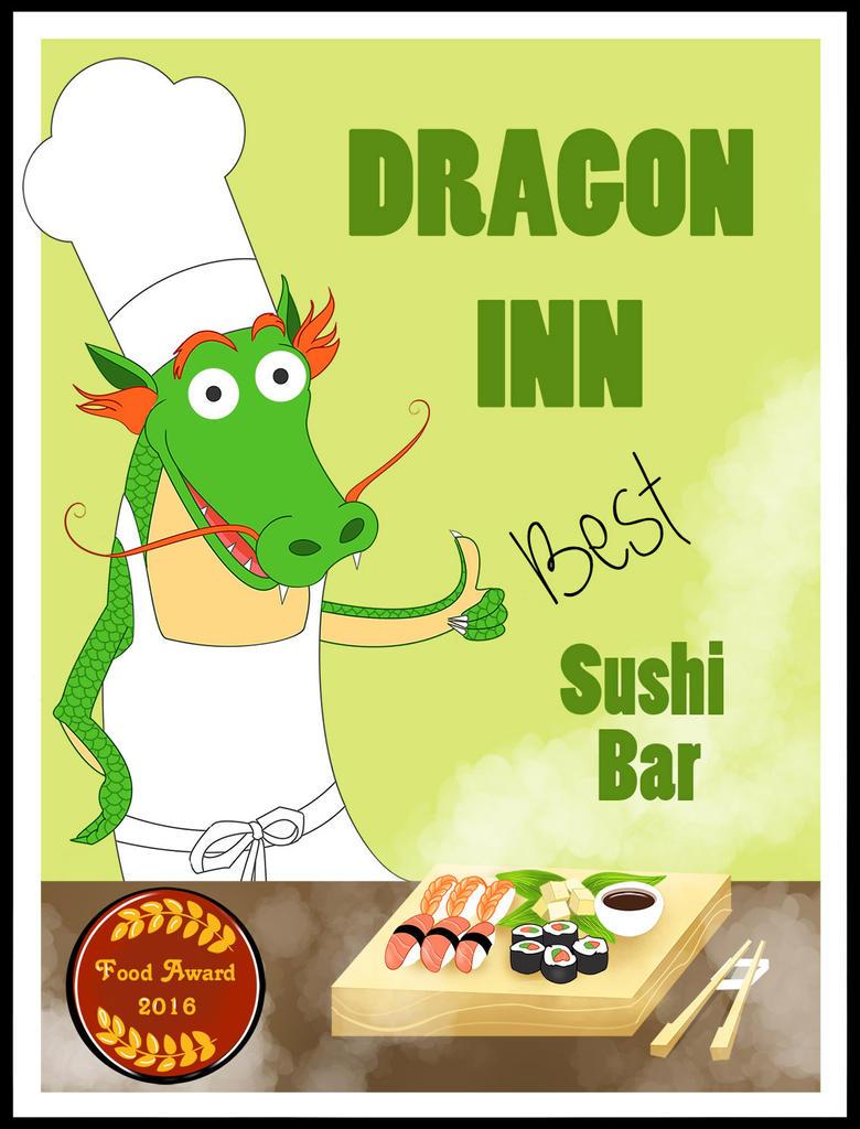 Dragonn Inn Sushi bar by Paulis1tp