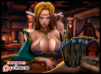 Strip Poker heartstone by crisisbeat83