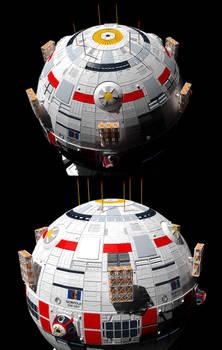 Terran Empire Navy Destroyer WIP 1