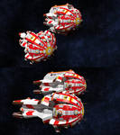 Terran Empire Navy - Cruiser and Carrier