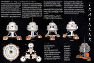Traveler Class Deep Space Explorer