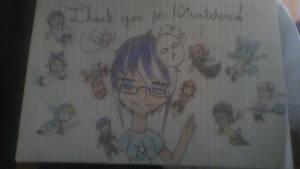 Thank you for 10+ watchers! by YumiTsukiyoru
