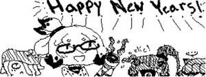 Happy New Years (Splatoon) by YumiTsukiyoru