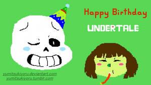 Happy Anniversary Undertale! by YumiTsukiyoru