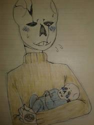 First child - Gill and Garamond by YumiTsukiyoru