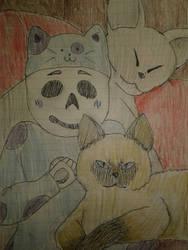 One with the Cats - Baby!Garamond by YumiTsukiyoru